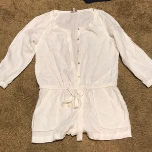 JUICY COUTURE romper - 100% Linen - NWOT